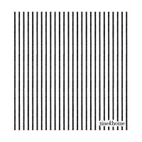 Tine K Home Paper Napkins, Pinstriped Phantom