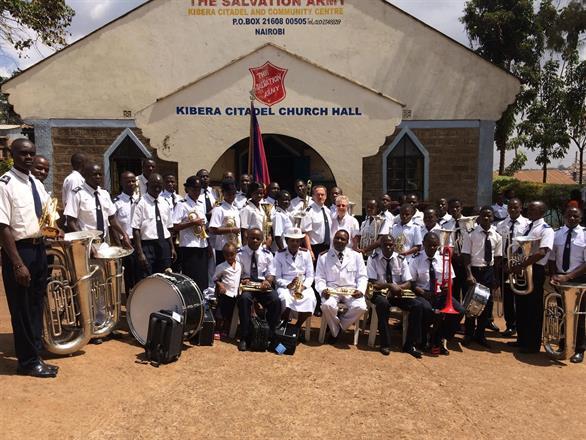 Together with Kibera Citadel Band