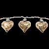 Ljusslinga argent hjärta Star Trading