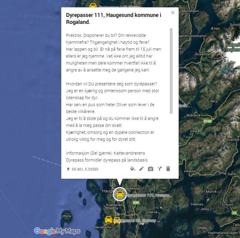 Dyrepasser 111, Haugesund kommune i Rogaland.