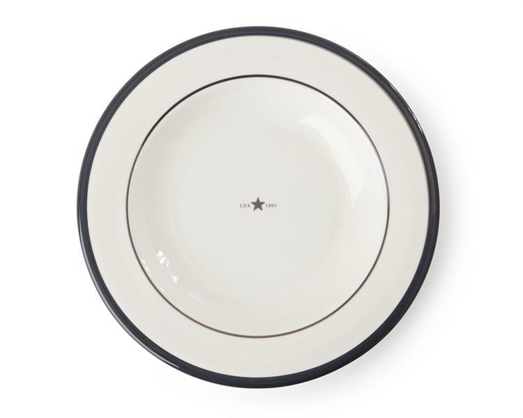 Lexington Soup Plate Gray