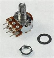 Potensiometer 2x50KA 63mW D18 Aksling 6x8mm