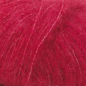 Brushed Alpaca Silk Rød