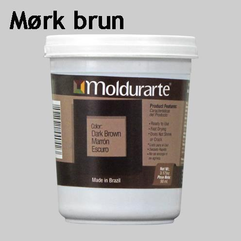Moldurarte, rammekitt, mørk brun, dark brown
