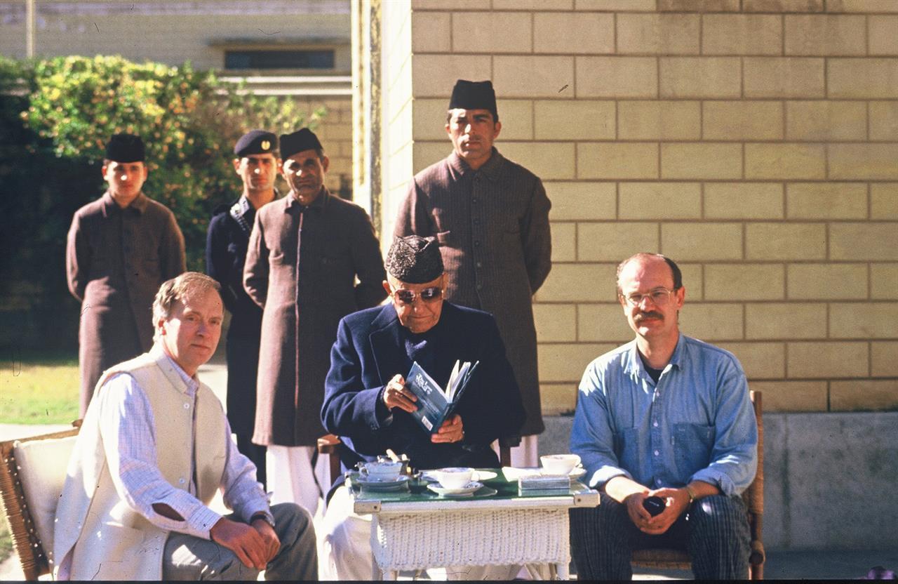 Trond Johannessen (t.h.) hos walien av Swat (1985)