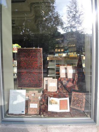 God eksponering av vår nye bok om orientalske tepper