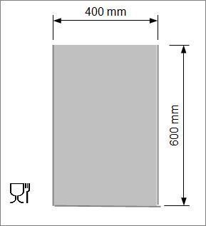 Kok/Sous-vide påse 400x600 mm