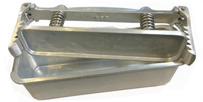 Pressform rektangulär 2,25 kg