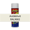 Skriftspray Hvit 9002 Antikk