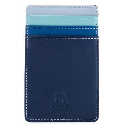 Kreditkortsfodral stående nr.128 Denim Mywalit