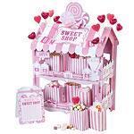 Cupcakestativ Sweet Shop inkl poser