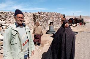 25b Landsbyen Kam-e-Sorkh,
