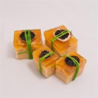 Citrus-kokos block liten