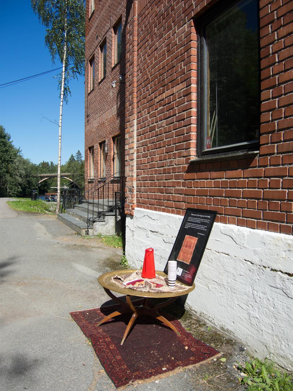 Sommerservering på Grini Mølle