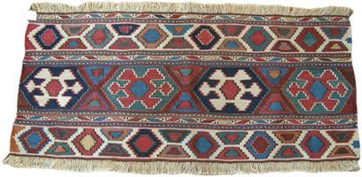 826 Shahsavan mafrash 110 x 49