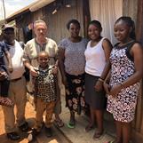 Visiting the Embenzi family