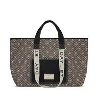 Day Finest Weave Big Shopper, Black