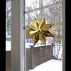 Julstjärna Classic star 28 cm mässing Star Trading