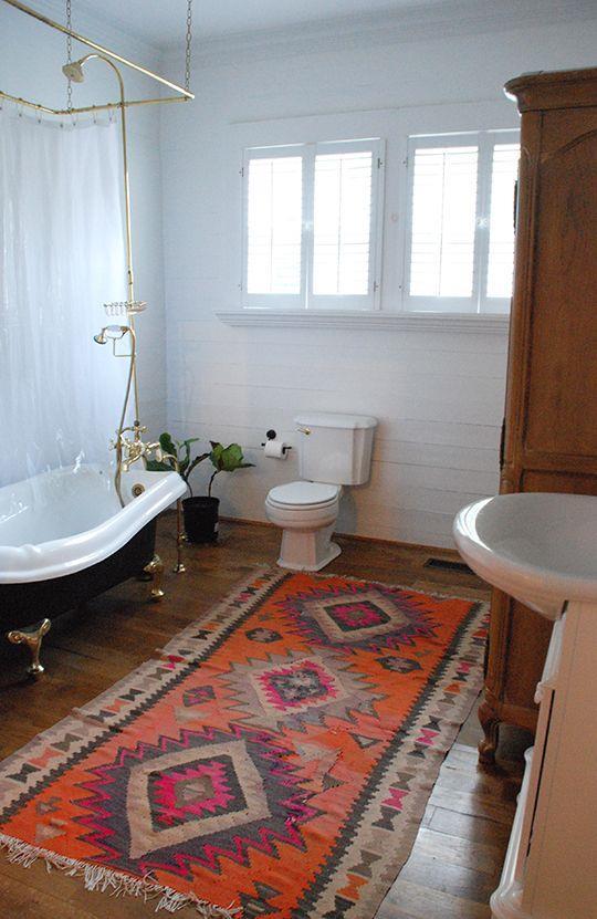 Teppe på badet? Hvorfor ikke!