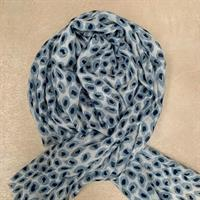 Three M Scarves, Blue