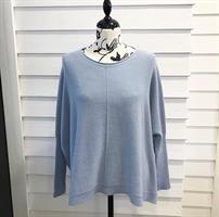Piro Oversize Knit, Azzurro