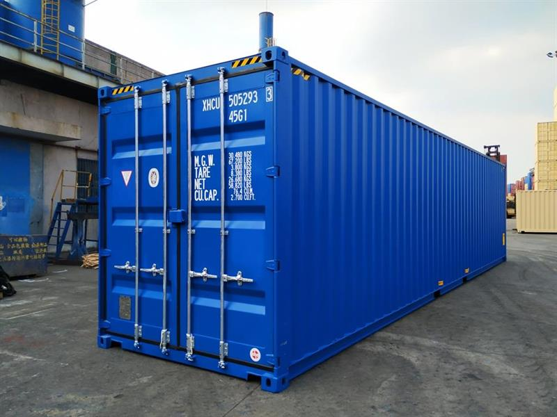 40 fots High cube container