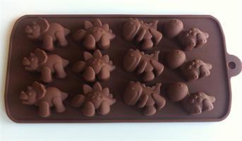 Silikonform sjokoladefigurer 4