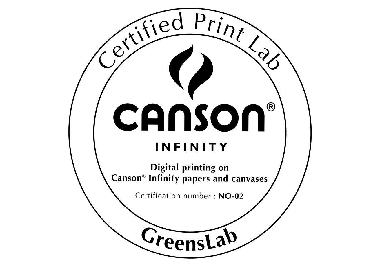 Greens greenslab print fotolab printlab Canson Infinity giclée fineart fine art bomulsspapir