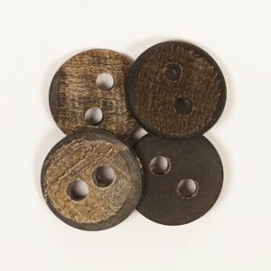 Treknapp bøffelhorn 25 mm
