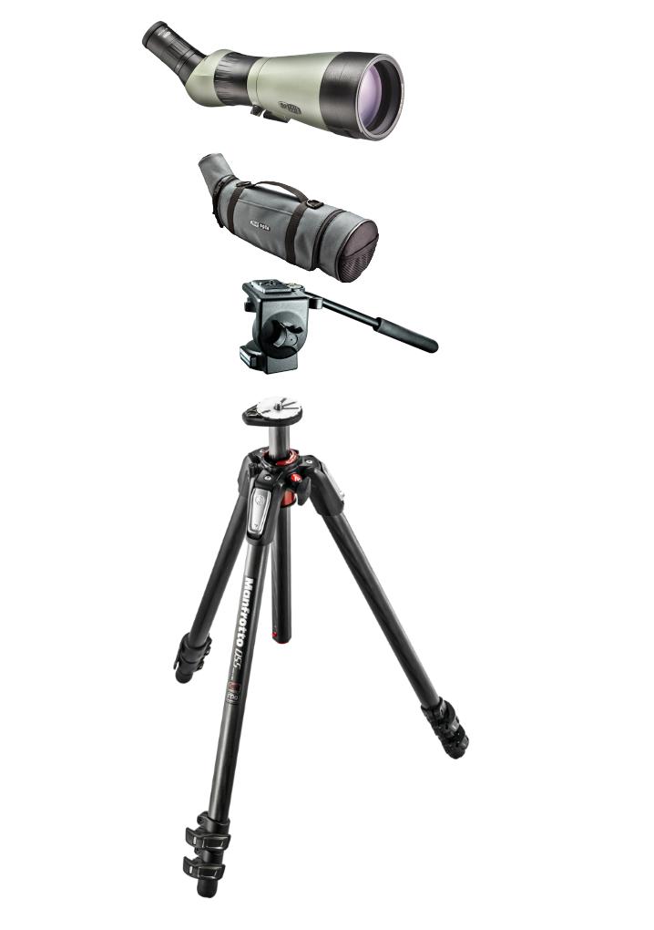 Meopta S2-82 HD skivekikkert pakke