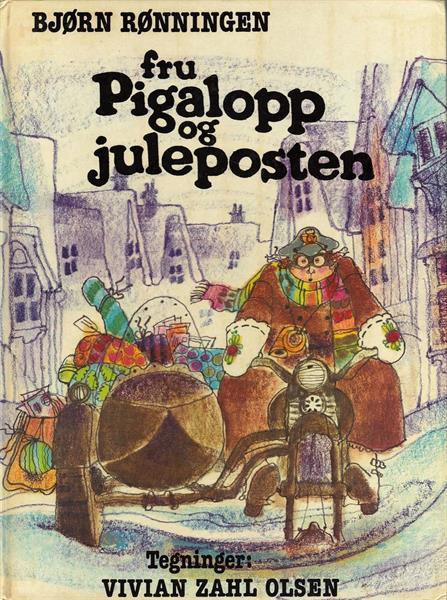 Fru Pigalopp og juleposten