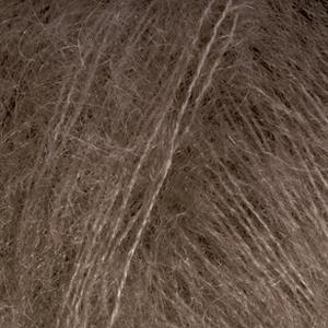 Kid-Silk Mørk brun