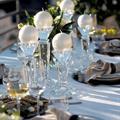 Balmuir Velvet Pallokynttilä 10 cm,Pearl