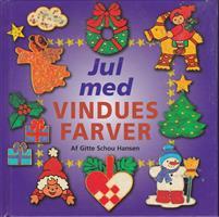 Jul med vinduesfarver - DANSK