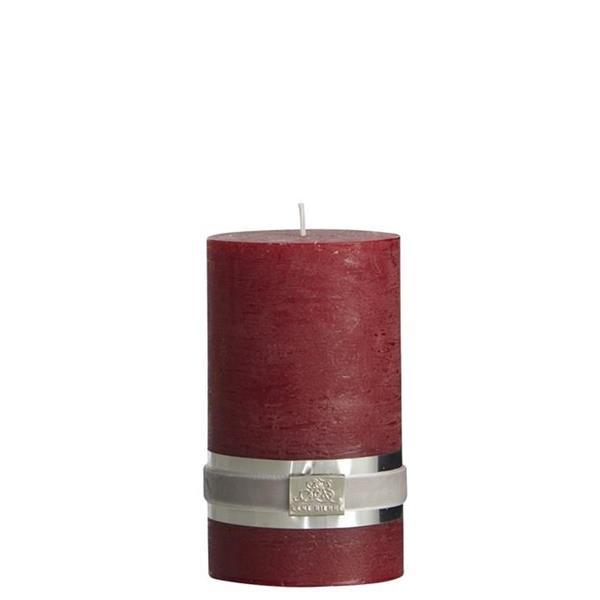 Lene Bjerre Rustic pillar candle pomegranate 12.5 cm