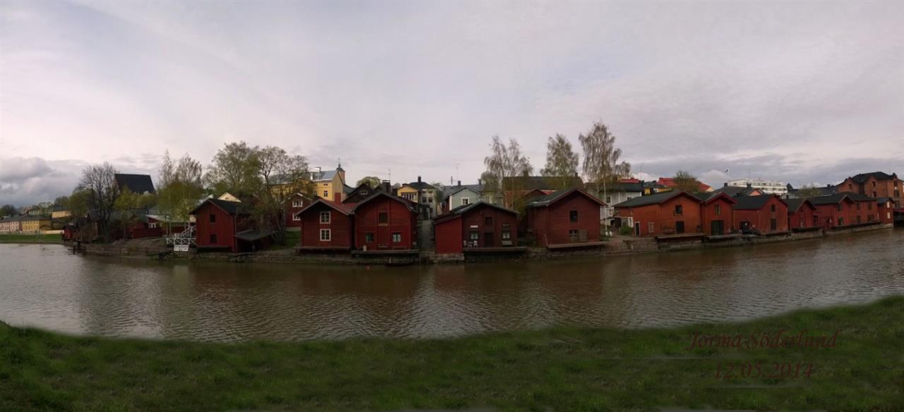 Vanhan Porvoon suola-aitat Kuva: Jorma Söderlund