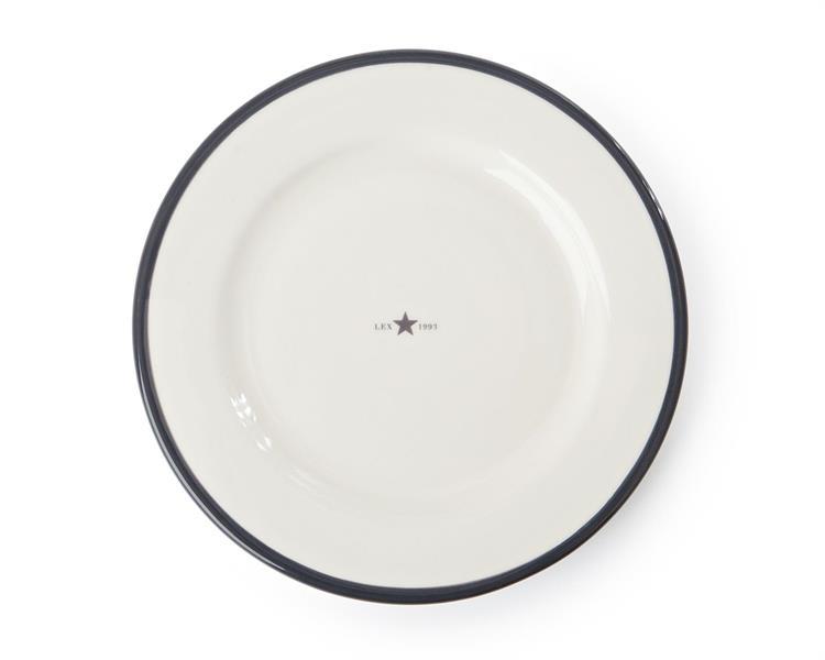 Lexington Dessert Plate Gray