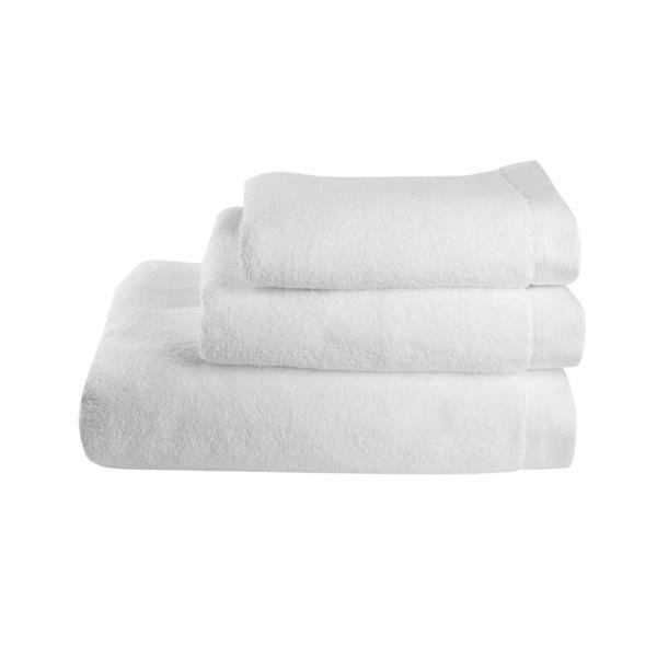 Balmuir Lugano Towel, 50 x 70 cm, White