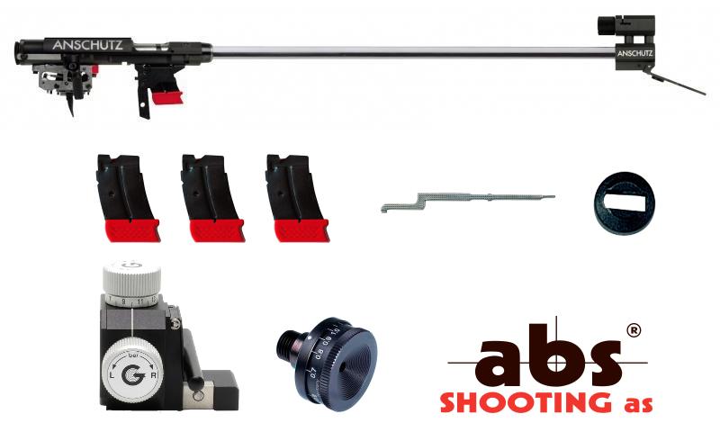 Anschutz 1827 Fortner Sprint barrel/action 16mm