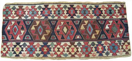 827 Shahsavan mafrash 111 x 50