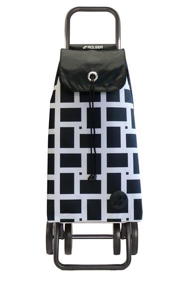 Shoppingvagn Rolser 2+2 Logic Geometric blancho