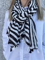 Three M Scarves, Black