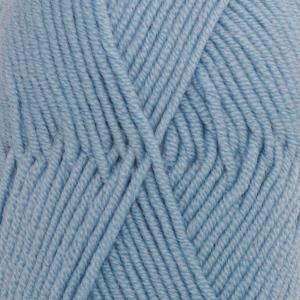 Merino Extra Fine Lys gråblå