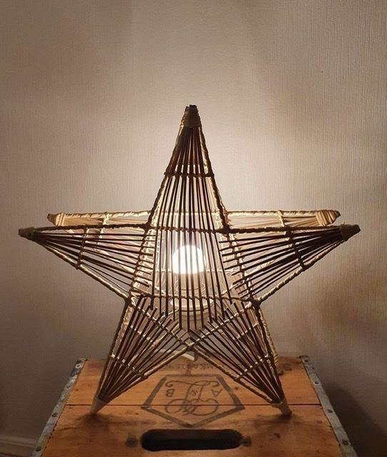 Julstjärna Strå