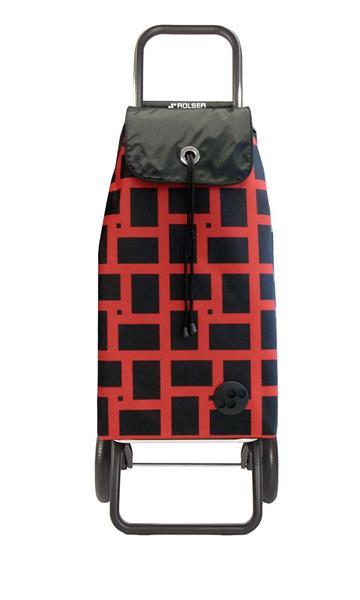 Shoppingvagn Rolser RG Logic Geometric rojo