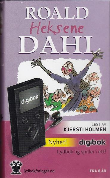Heksene (DIGIBOK - lydbok og spiller i ett)