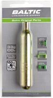 CO2-patron 33 gram m. säkerhetsstift
