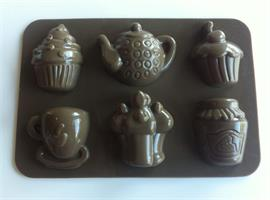 Silikonform sjokoladefigurer 7