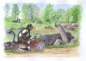 Cykelfärd 7x9