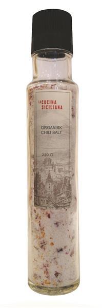 Siciliansk Saltkvern m/ Chilli 250g